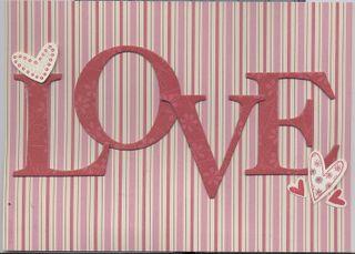 Love 5 x 7
