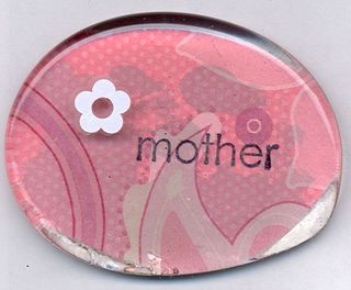Mother Matters Stamp Camp Pebble magnet